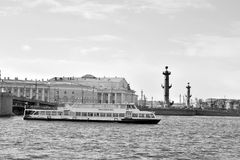 Взгляд стрелки острова Vasilievsky Стоковые Фото