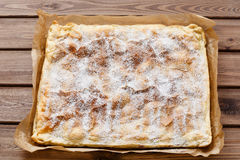 Взгляд сладостного торта слойки Стоковые Изображения RF