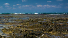 взгляд Таиланда моря национального парка angthong Панорама моря и неба Идиллия моря Стоковое фото RF