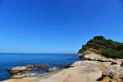 взгляд Таиланда моря национального парка angthong Стоковое Изображение RF