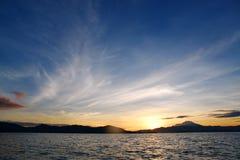 взгляд Таиланда моря национального парка angthong Стоковые Фото