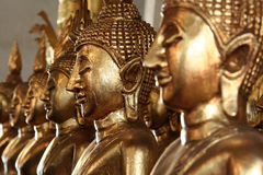 взгляд Таиланда статуи Будды Стоковые Изображения