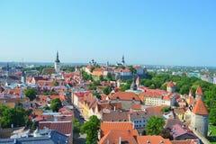 Взгляд Таллина Стоковое Изображение