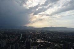 Взгляд телевизионной станции Пекина Стоковое фото RF