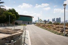 Взгляд Тель-Авив от музея Eretz Израиля Стоковая Фотография