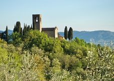 Взгляд Тосканы стоковая фотография