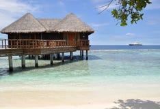 Maldivian остров Стоковые Изображения RF