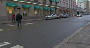 Взгляд Турку Финляндии сток-видео