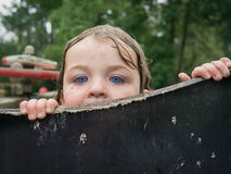 Взгляд украдкой шиканье Стоковое Фото