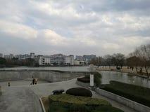 взгляд университета Чжэцзяна Стоковые Изображения RF