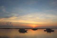 Взгляд утра в Sanur Стоковое фото RF