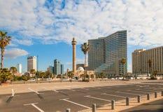 Взгляд утра современного города стоковое фото rf