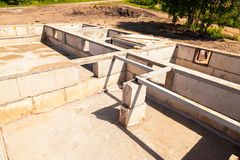 Взгляд учреждения строительной площадки и дома стоковая фотография