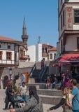 Взгляд улицы Анкары Стоковое Изображение RF
