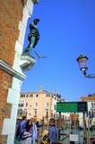 Взгляд улицы Венеции Стоковая Фотография RF