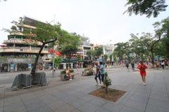 Взгляд улицы Вьетнама Ханоя Стоковое Изображение RF