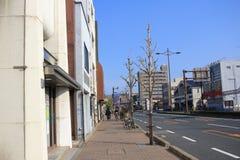 Взгляд улицы в Киото стоковые изображения rf