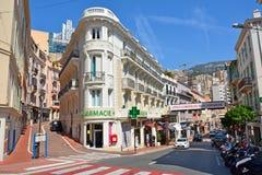 Взгляд улицы в Монако стоковые изображения