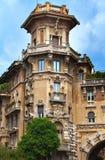 Взгляд улицы в Риме, Италии стоковые изображения rf