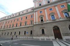 Взгляд улицы в Риме, Италии Стоковое Изображение