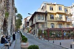 Взгляд улицы в Стамбуле Стоковые Изображения