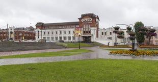 Взгляд улицы в vladimir, Российской Федерации стоковые изображения rf