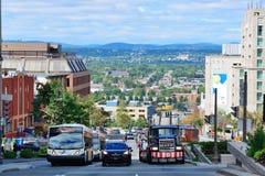 Взгляд улицы Квебека (город) Стоковое Изображение