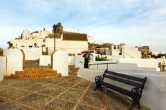 Взгляд улицы Ла Frontera Arcos de Стоковые Фото