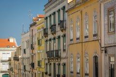 Взгляд улицы Лиссабона Стоковая Фотография