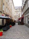Взгляд улицы Львова Стоковое Изображение RF