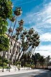 Взгляд улицы Малаги Стоковое Изображение RF