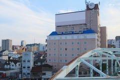 взгляд улицы на Хиросиме Стоковая Фотография RF