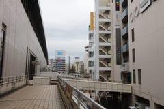 Взгляд улицы на Omiya стоковые фото