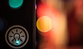 Взгляд улицы светлого оригинала Стоковое фото RF