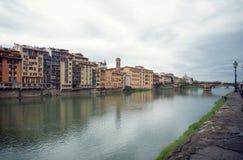 Взгляд улицы Флоренса Стоковая Фотография RF