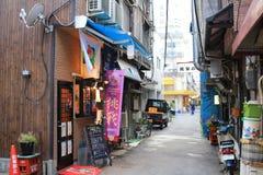 взгляд улицы Хиросимы Стоковые Изображения RF