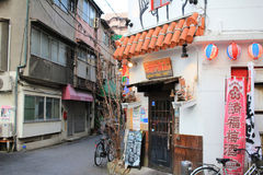 взгляд улицы Хиросимы стоковые фото