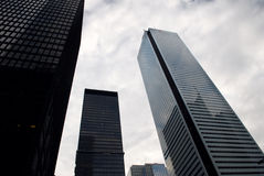 Взгляд улицы, центр города, Торонто, Онтарио, Канада стоковые фото