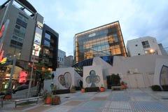 Взгляд улицы Японии Хиросимы Стоковое Изображение RF