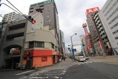 Взгляд улицы Японии Хиросимы Стоковая Фотография