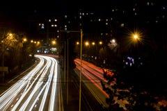 Взгляд улицы al-farabi Стоковое фото RF