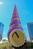 Взгляд улицы Myeongdong Стоковые Изображения