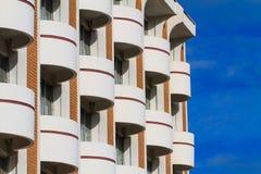 Взгляд фасада гостиницы Стоковые Изображения