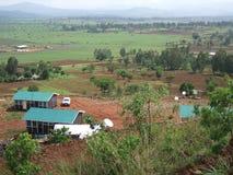 Взгляд фермы Стоковое Изображение RF
