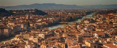 Взгляд Флоренции Стоковое Фото