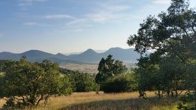 Взгляд Хорватии Udbina- на velebit Стоковые Изображения RF