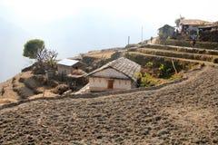 Взгляд холма Непала Poon Стоковые Изображения