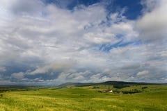 Взгляд холма Стоковые Изображения RF