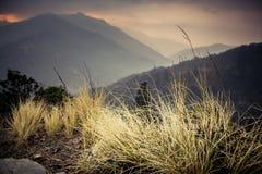Взгляд холма Poon пасмурный стоковые фото