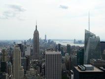 Взгляд центра города Нью-Йорка Манхаттана Стоковые Изображения RF